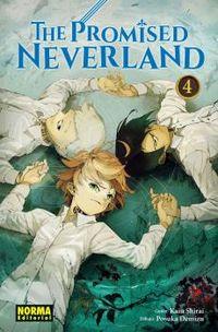 Promised Neverland, The 4 - Kaiu Shirai / Posuka Demizu
