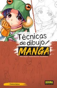 Tecnicas De Dibujo Manga 1 - Hikaru Hayashi / Takehiko Matsumoto / Kazuaki Morita