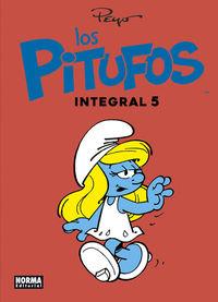 Pitufos, Los 5 (integral) - Peyo