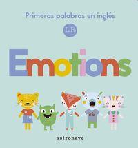 EMOTIONS - PRIMERAS PALABRAS EN INGLES