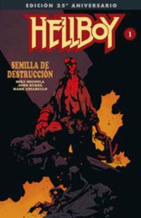 hellboy - semilla de destruccion (ed. gigante ) (25 aniversario) - Mike Mignola / John Byrne