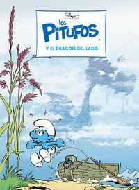 PITUFOS, LOS 37 - LOS PITUFOS Y EL DRAGON DEL LAGO