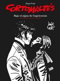 CORTO MALTES 2 - BAJO EL SIGNO DE CAPRICORNIO (BLANCO Y NEGRO)
