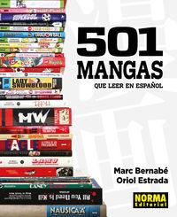 501 Mangas Que Leer En Español - Marc Bernabe / Oriol Estrada