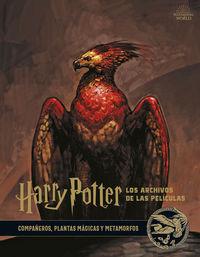 Harry Potter: Los Archivos De Las Peliculas 5 - Compañeros, Plantas Magicas Y Metamorfos - Jody Revenson