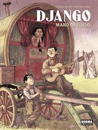 DJANGO - MANO DE FUEGO