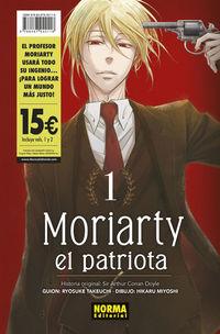 PACK DE INICIACION MORIARTY EL PATRIOTA