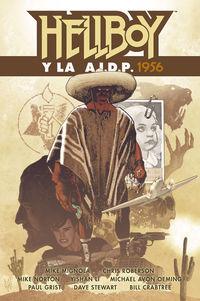 hellboy 24 - hellboy y la aidp 1956 - Mike Mignola / [ET AL. ]