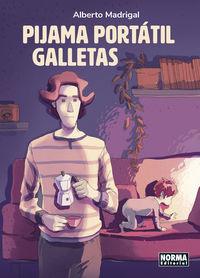 pijama portatil galletas - Alberto Madrigal