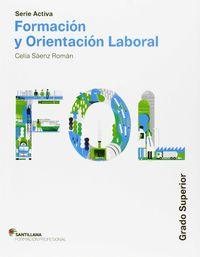 Gs - Fol - Formacion Y Orientacion Laboral - Serie Aciva - Aa. Vv.