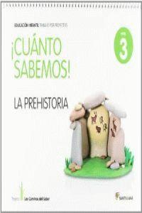 5 AÑOS - NIVEL III - LA PREHISTORIA - CUANTO SABEMOS