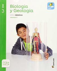 Eso 3 - Biologia Y Geologia (trim) - Mochila Ligera - Saber Hacer - Aa. Vv.
