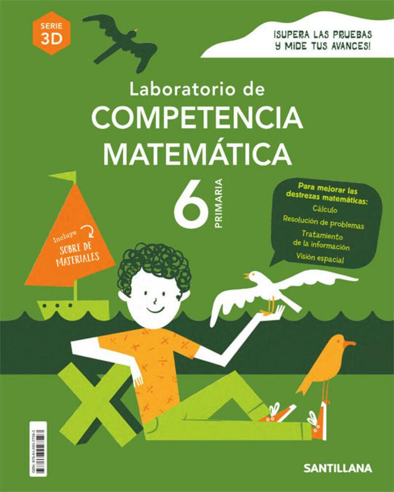 EP 6 - MATEMATICAS - COMPETENCIAS MATEMATICAS 3D - ENTRENATE