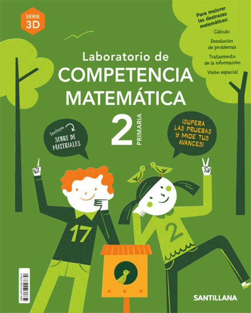 EP 2 - MATEMATICAS - COMPETENCIAS MATEMATICAS 3D - ENTRENATE