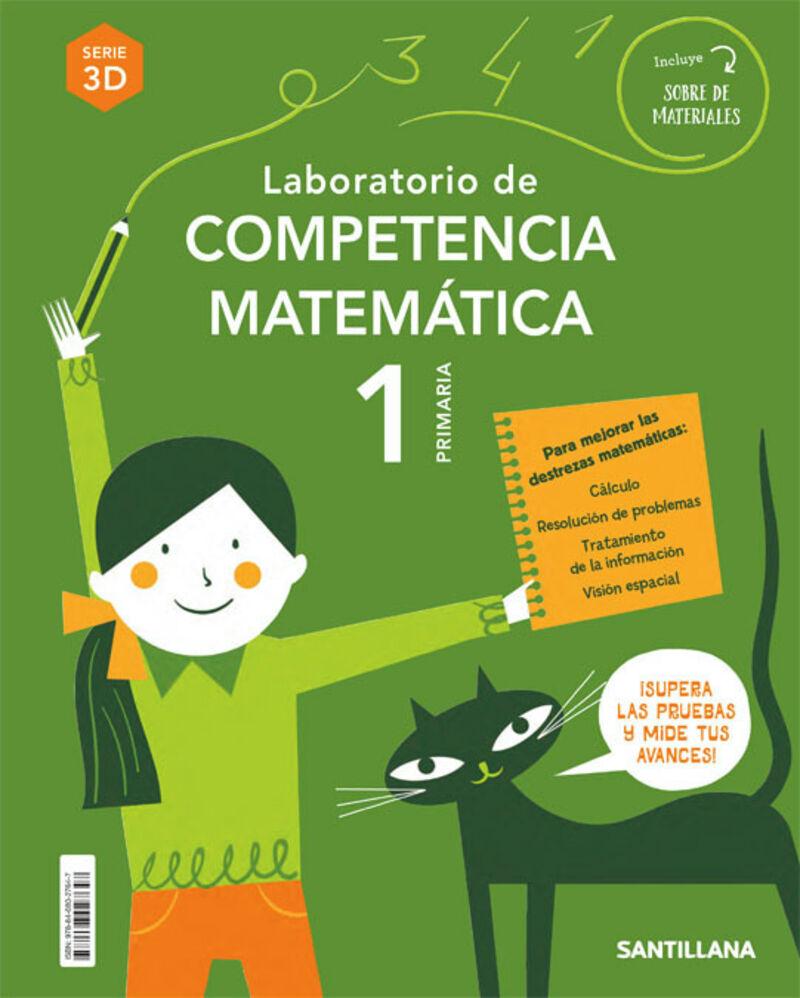 EP 1 - MATEMATICAS - COMPETENCIAS MATEMATICAS 3D - ENTRENATE
