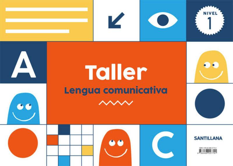 3 AÑOS - NIVEL I - TALLER LENGUA COMUNICATIVA
