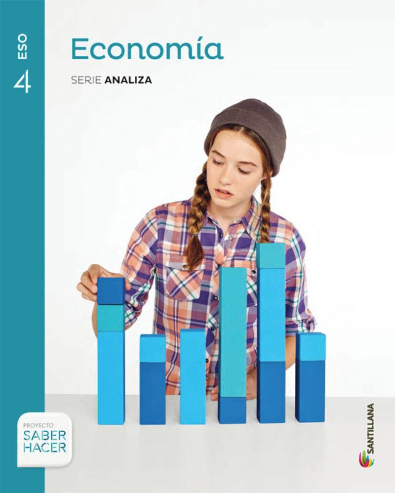Eso 4 - Economia Analiza Saber Hacer - Saber Hacer - Aa. Vv.