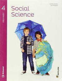 Ep 4 - Sociales (ingles) - Social Science (+cd) (mad) - Aa. Vv.