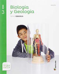 ESO 3 - BIOLOGIA Y GEOLOGIA (ARA) - OBSERVA - SABER HACER