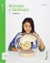 ESO 1 - BIOLOGIA Y GEOLOGIA - OBSERVA - SABER HACER (MAD)