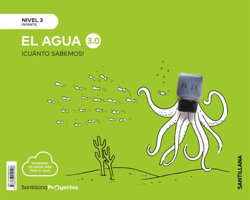 5 AÑOS - NIVEL III - EL AGUA - CUANTO SABEMOS