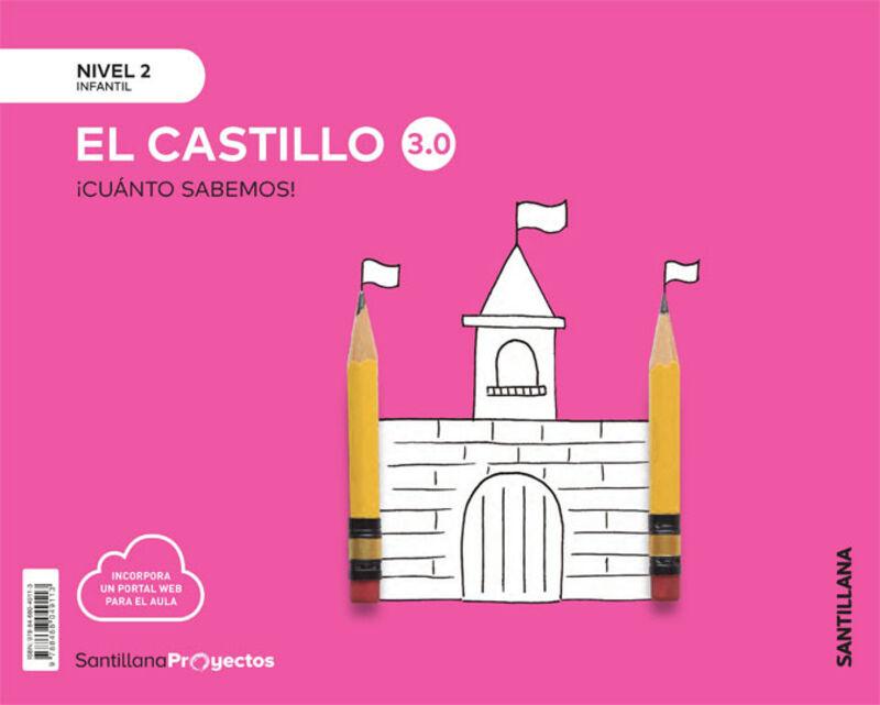 4 AÑOS - NIVEL II - CASTILLO - CUANTO SABEMOS