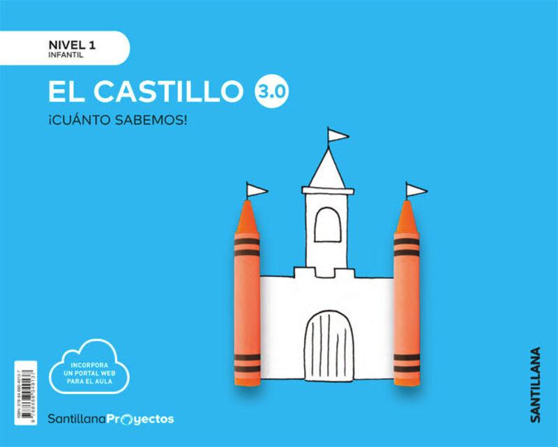 3 AÑOS - NIVEL I - CASTILLO - CUANTO SABEMOS