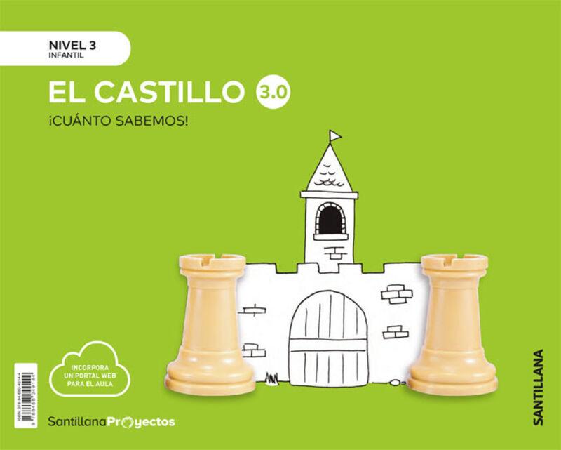 5 AÑOS - NIVEL III - CASTILLO - CUANTO SABEMOS