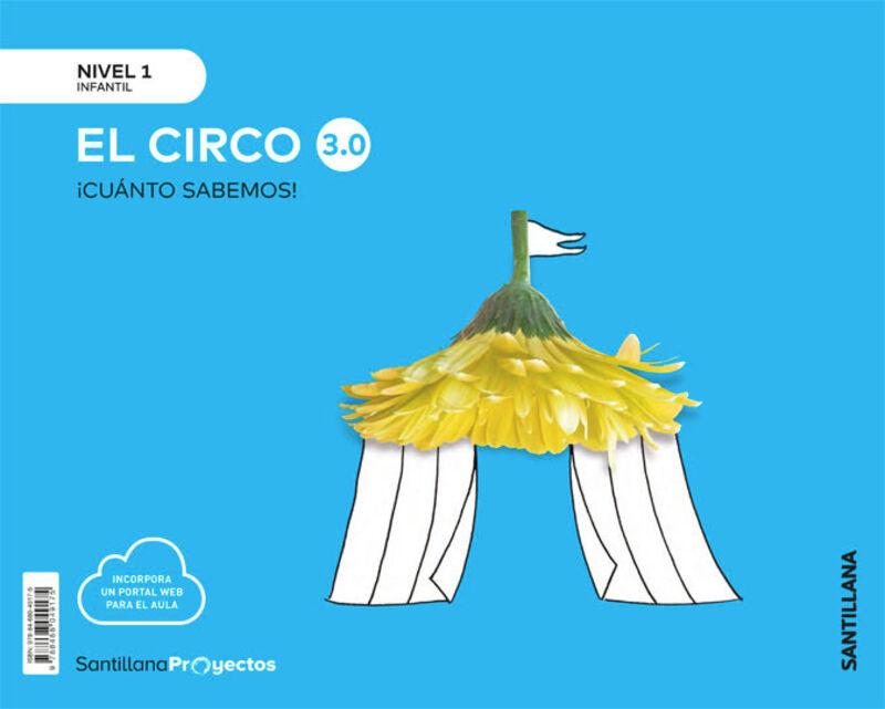3 AÑOS - NIVEL I - EL CIRCO - CUANTO SABEMOS