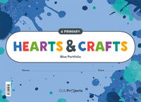EP 6 - PLASTICA (INGLES) - HEARTS & CRAFTS - BLUE NTB I