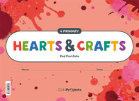 EP 4 - PLASTICA (INGLES) - HEARTS & CRAFTS - RED NTB I