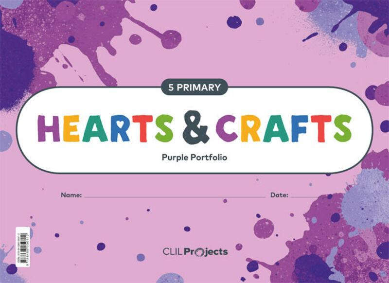 EP 5 - PLASTICA (INGLES) - HEARTS & CRAFTS - PURPLE NTB I
