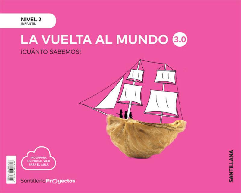 4 AÑOS - NIVEL II - VUELTA AL MUNDO - CUANTO SABEMOS 3.0