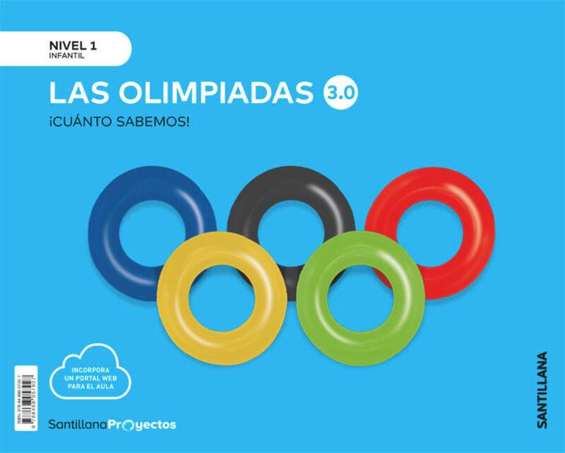 3 AÑOS - NIVEL I - LAS OLIMPIADAD - CUANTO SABEMOS 3.0