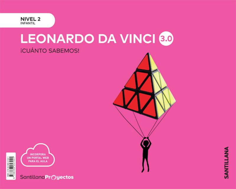 4 AÑOS - NIVEL II - LEONARDO VINCI - CUANTO SABEMOS 3.0