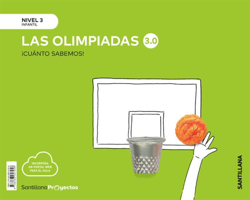 5 AÑOS - NIVEL III - OLIMPIADAS - CUANTO SABEMOS 3.0