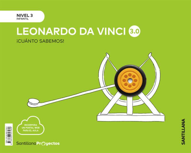5 AÑOS - NIVEL III - LEONARDO VINCI - CUANTO SABEMOS 3.0