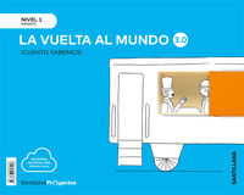3 AÑOS - NIVEL I - VUELTA AL MUNDO - CUANTO SABEMOS 3.0