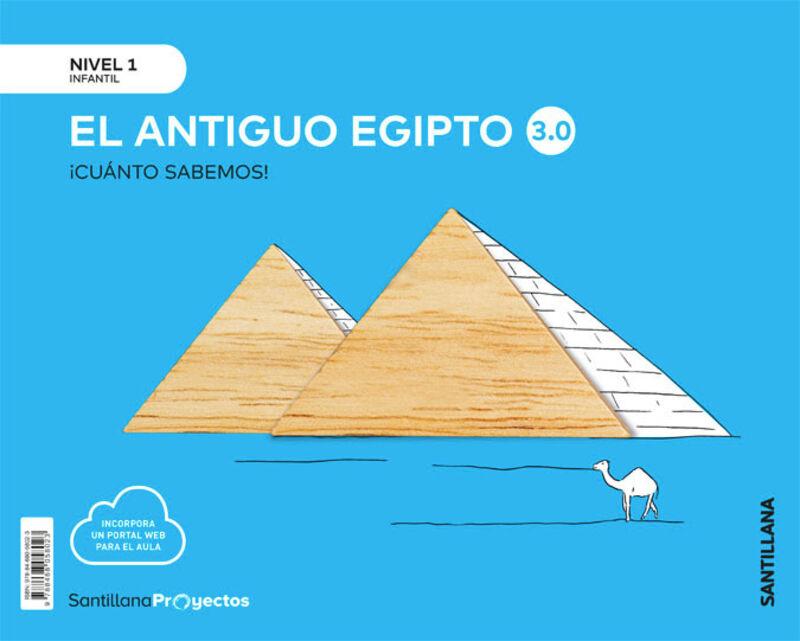 3 AÑOS - NIVEL I - LOS EGIPCIOS - CUANTO SABEMOS 3.0
