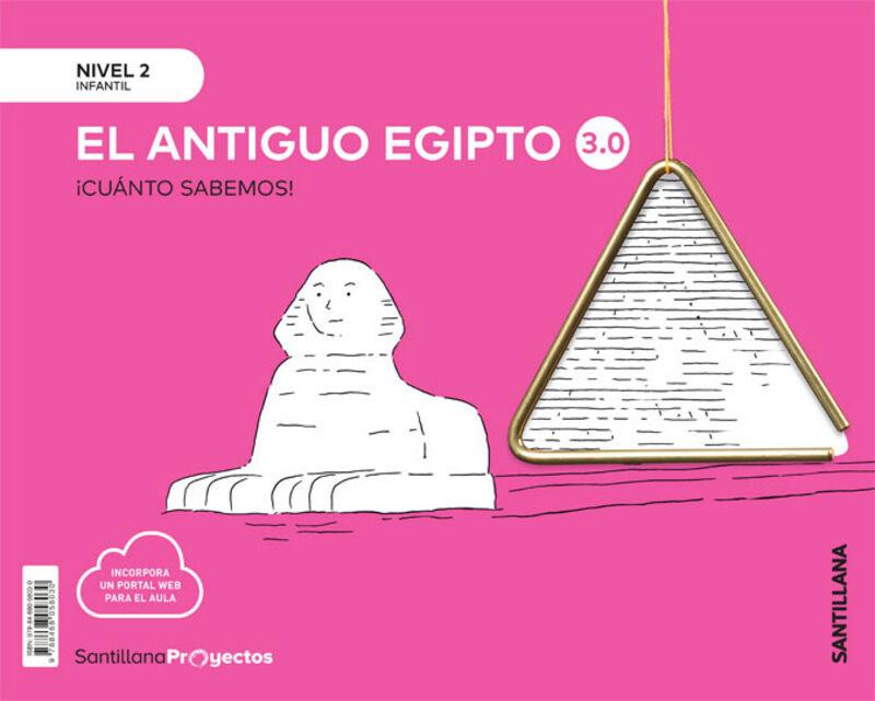 4 AÑOS - NIVEL II - LOS EGIPCIOS - CUANTO SABEMOS 3.0