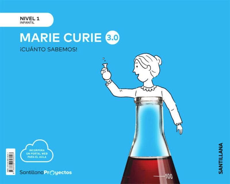 3 AÑOS - NIVEL I - MARIE CURIE - CUANTO SABEMOS 3.0