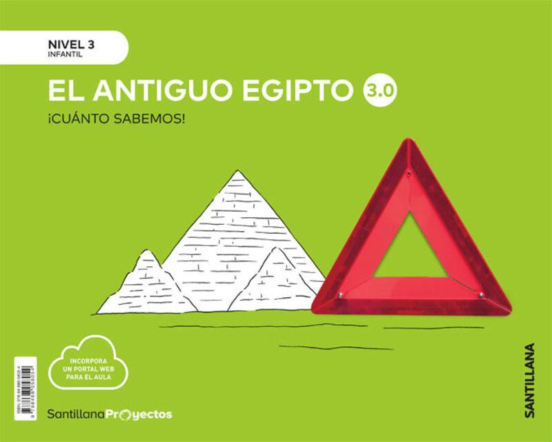 5 AÑOS - NIVEL III - LOS EGIPCIOS - CUANTO SABEMOS 3.0