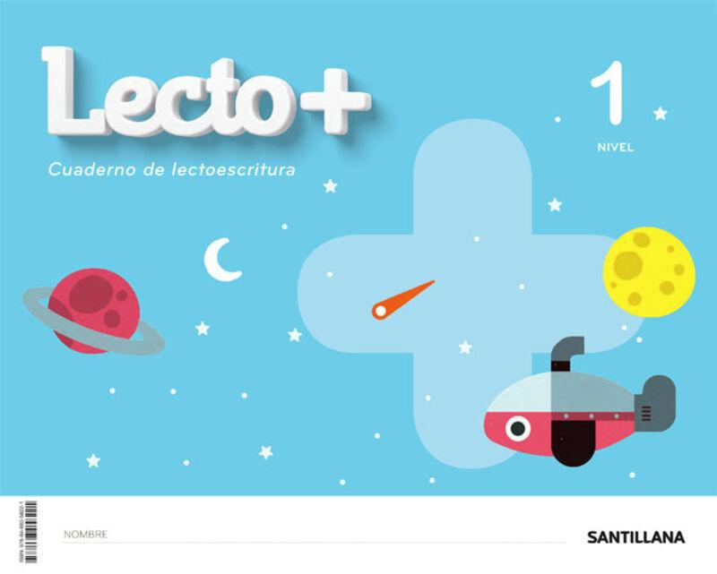 3 AÑOS - NIVEL I - LECTOESCRITURA - LECTO+