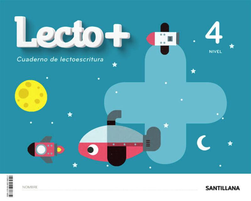 4 AÑOS - NIVEL IV - LECTOESCRITURA - LECTO+