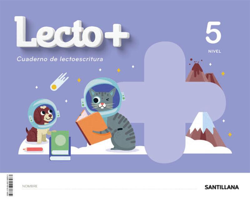 5 AÑOS - NIVEL V - LECTOESCRITURA - LECTO+