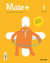 EP 1 - MATEMATICAS - MATE+ - PRACTICA - MATEMATICAS PARA PENSAR