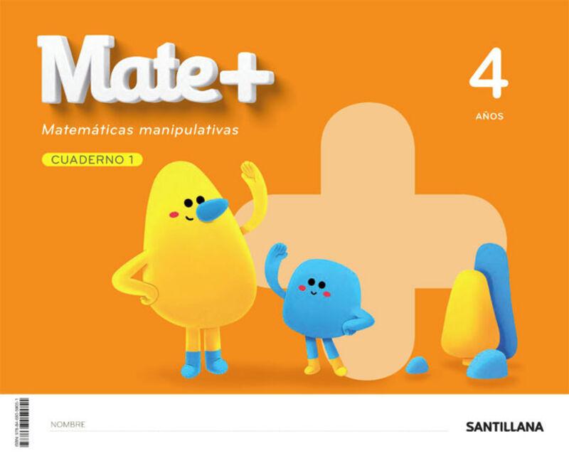 4 AÑOS - MATEMATICAS CUAD - MATE+