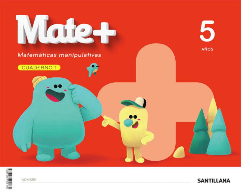 5 AÑOS - MATEMATICAS CUAD - MATE+