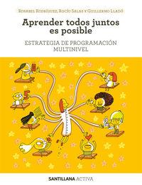 APRENDER TODOS JUNTOS ES POSIBLE - ESTRATEGIA DE PROGRAMACION MULTINIVEL