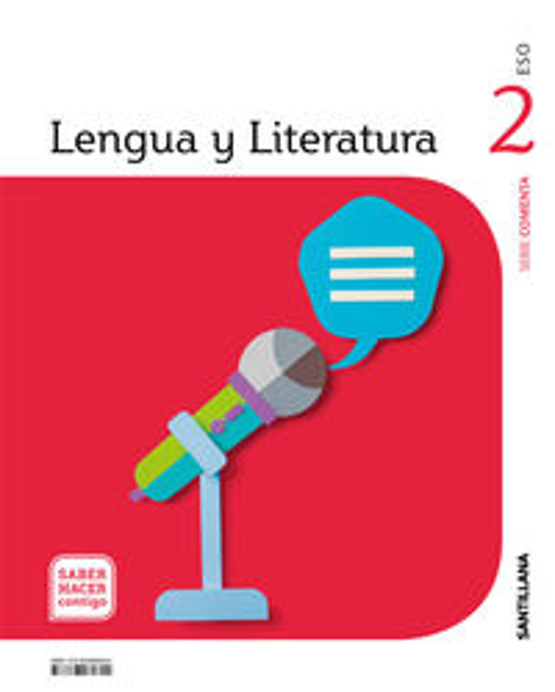 ESO 2 - LENGUA Y LITERATURA - COMENTA - SABER HACER CONTIGO